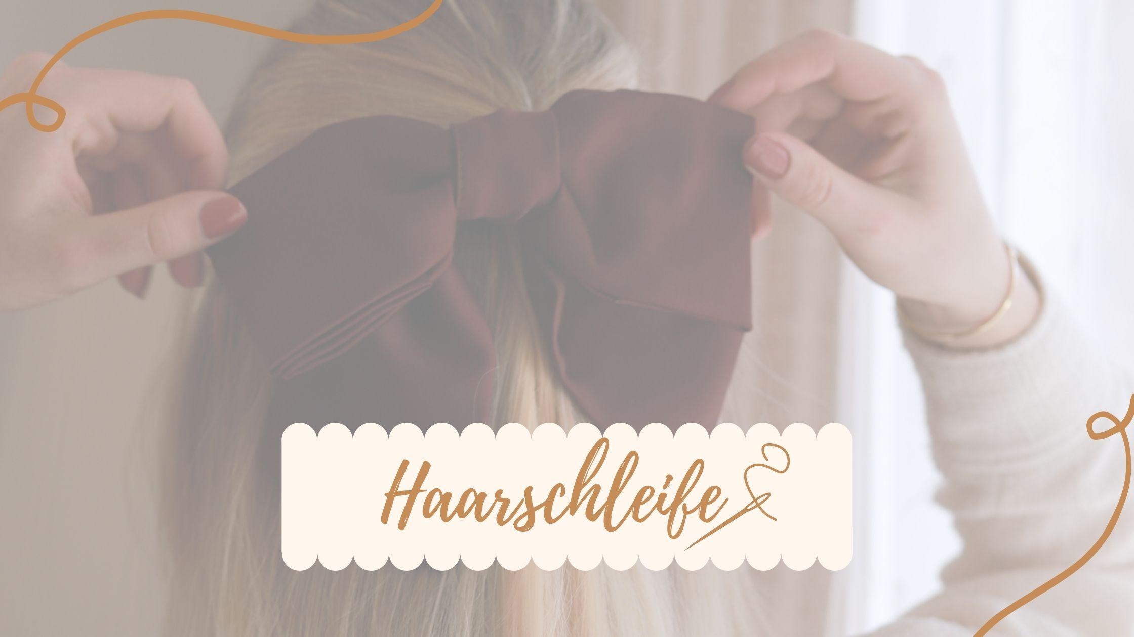 DIY Haarschleife – Verwerte deine alten Lieblingsstücke!