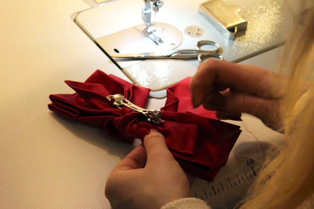 DIY Haarschleife nähen