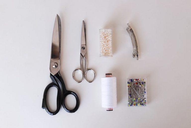 DIY Haarschleife - Zubehör