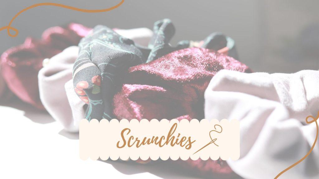 DIY Scrunchie – süße Begleiter für den Alltag!