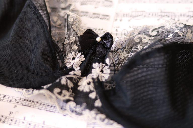 Eigenkreationen schwarze Unterwäsche